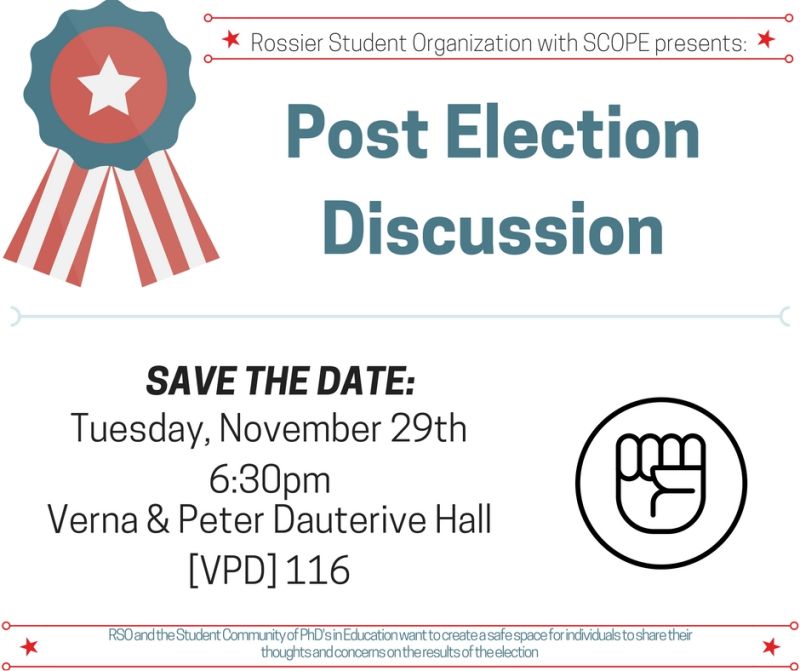 Post Election Discussion Flyer