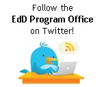 Follow the Ed.D. program Office Blog on Twitter!